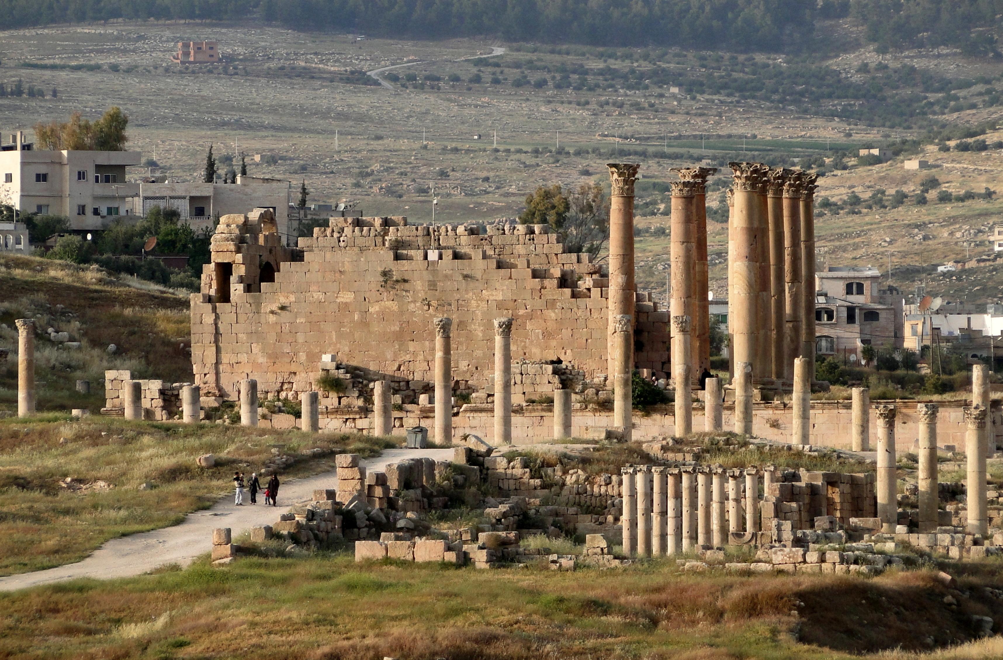 Temple Of Artemis Ancient Greek Temple In Turkey