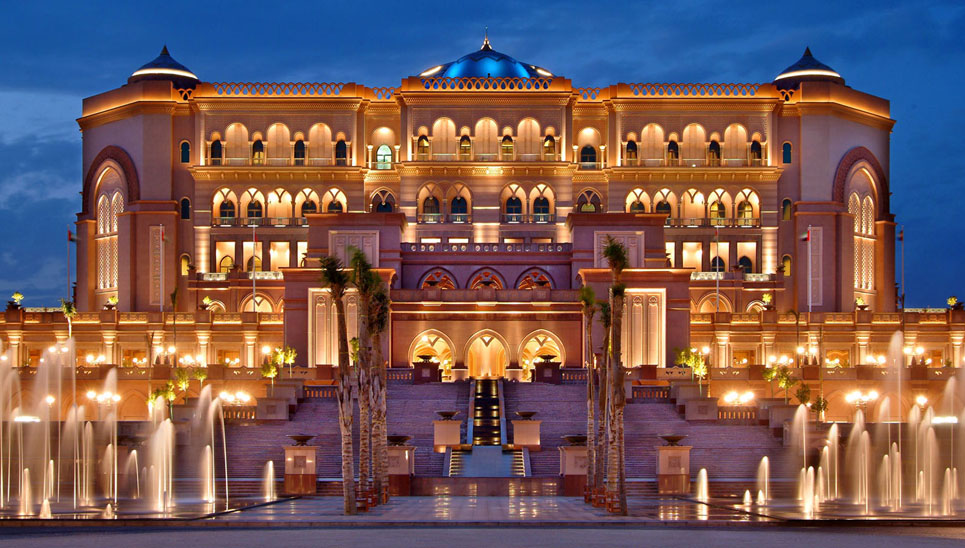 Emirates palace travelling moods for Most luxurious hotels