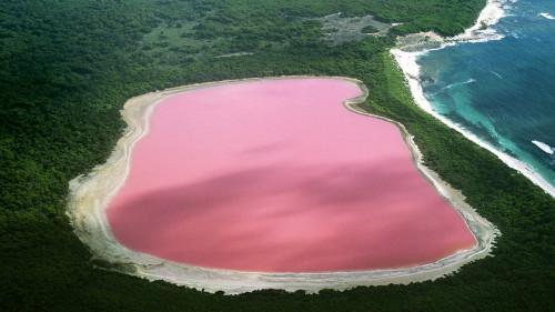 Amazing Lake Hillier