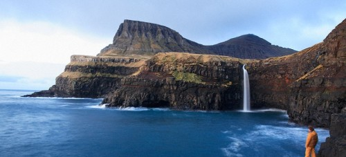 beautiful view of faroe