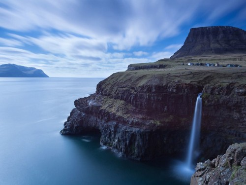 faroe islands village