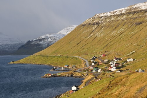 nice weather at faroe islands