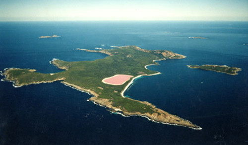 swim in lake hillier