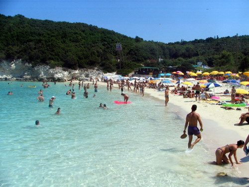 Antipaxos vrika greece