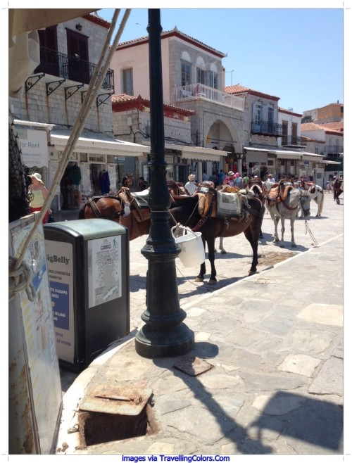 Horse Riding in Hydra Greece
