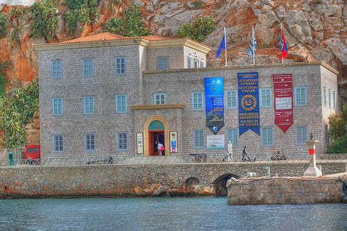 Museum in Hydra Greece