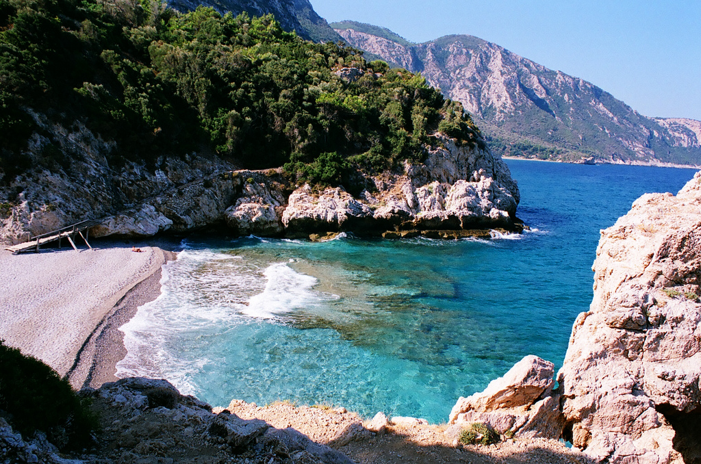 Mikro Seitani Beach Samos Greece